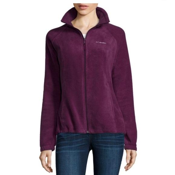 6922e139709 Columbia Jackets   Blazers - Columbia Three Lakes Fleece Jacket Purple  Dahlia L